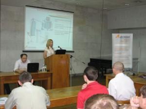 Нина Золотова, менеджер по внедрению CAD-систем в промышленно-строительной отрасли (г. Киев)