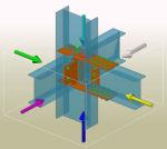 Возможность создания групп элементов для оптимизации работы с большими моделями