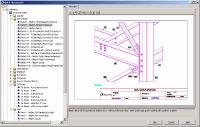 наравне с металлическими конструкциями пользователь может моделировать железобетонные и деревянные элементы конструкций